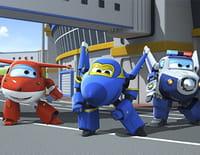 Super Wings, paré au décollage ! : Le concours de robots