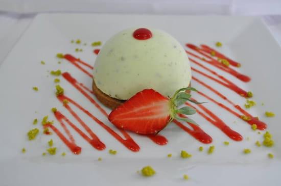 D lys  - Parfait glacé à la pistache -   © Restaurant D lys