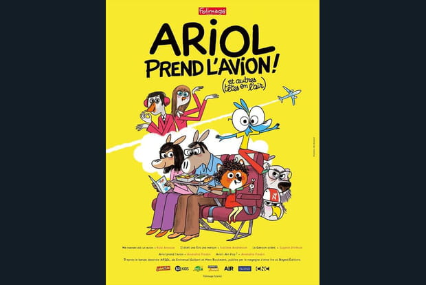 Ariol prend l'avion (et autres têtes en l'air) - Photo 1