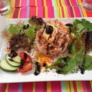 Entrée : L'Assiette Amoureuse  - Salade camarguaise  -