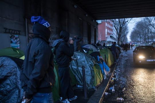 Porte de la Chapelle: comment la police compte éviter la reconstitution des camps de migrants