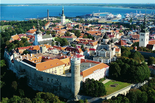 Tallinn, l'esprit médiéval en Estonie