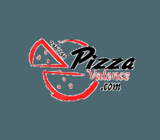 Restaurant : Pizza Valence  - Logo pizza Valence -   © pizza valence