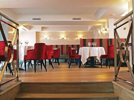 Brasserie Le Carré  - La salle Rouge -   © Vauzelle