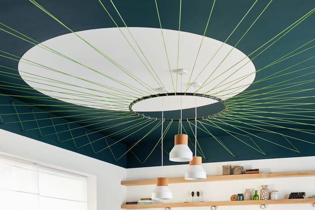 Un Tissage Au Plafond