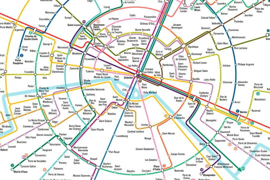 Nouvelle carte du métro de Paris : une consultation plus simple