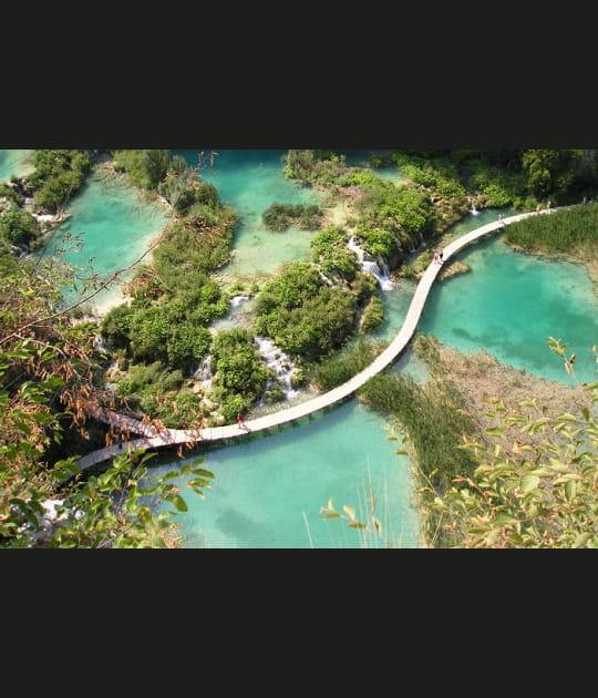 Lacs émeraudes de Plitvice
