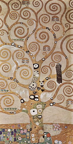 Gustav Klimt - L'Arbre de Vie