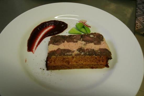 La Petite Maison de Bras  - pressé de joue de boeuf et foie gras (décembre 2012) -   © patrick