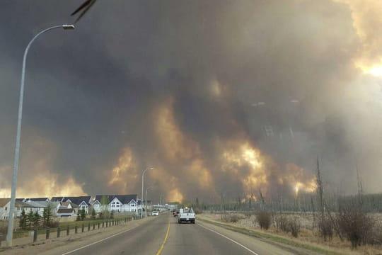 Incendie au Canada : à Fort McMurray, des images choc [PHOTOS]