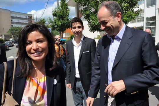Jean-François et Nadia Copé