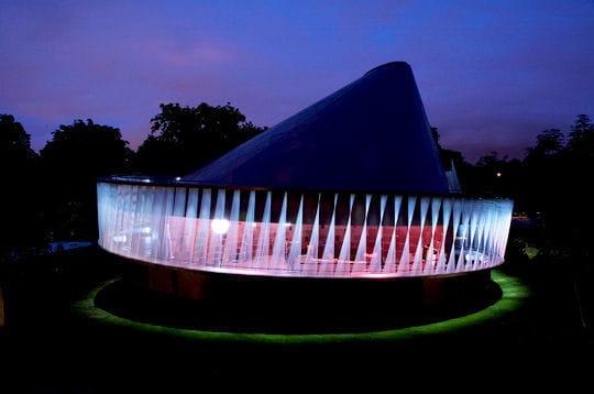 Les pavillons de la Serpentine Gallery