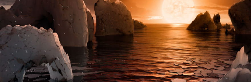 Photos et exploration 3D des sept exoplanètes dévoilées