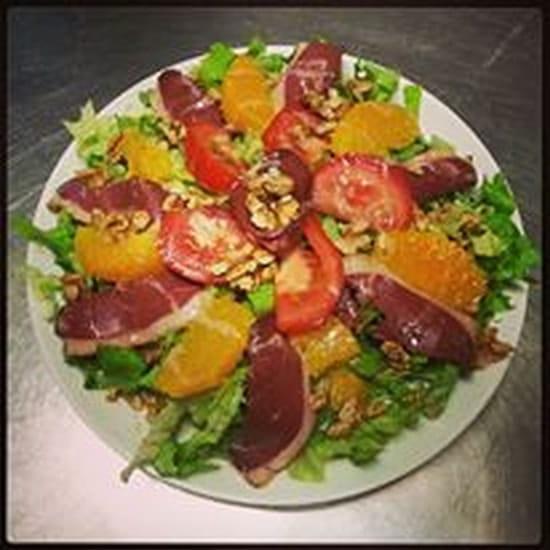 Cuisine & gourmandises  - Une de nos salades -   © CMV