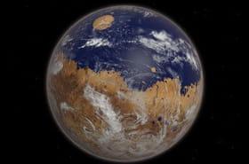 A quoi ressemblerait la planète Mars avec une atmosphère ?