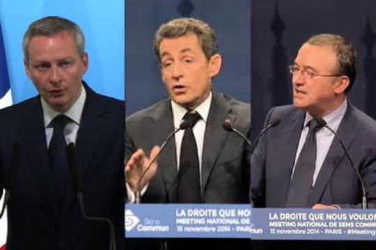 Election UMP: lesprogrammes descandidats Sarkozy, LeMaire etMariton [Résumés]