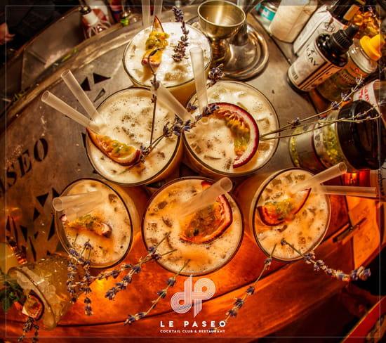 Boisson : Le Paseo - Cocktail club & restaurant (Ex : LE SUD)  - Cocktails offerts soirée filles -   © Le Paseo - Cocktail club & Restaurant