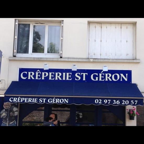 Restaurant : Crêperie Saint Géron