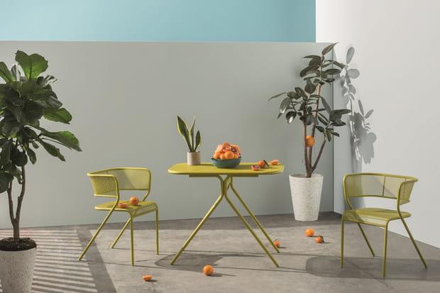 Du mobilier coloré