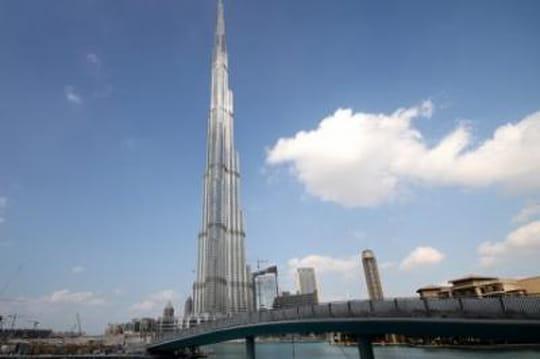 Plus grande tour du monde: Burj Khalifa, àDubai