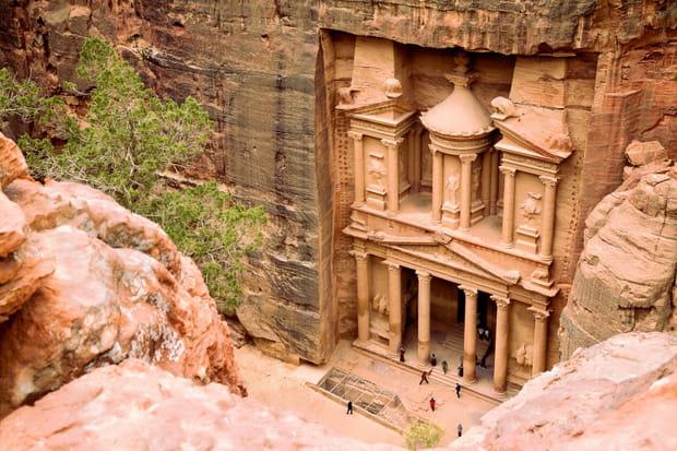 Pétra, en Jordanie (Nouvelle merveille du monde)