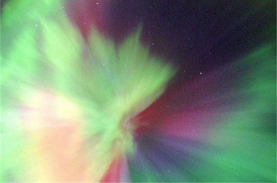Chorégraphie des aurores polaires