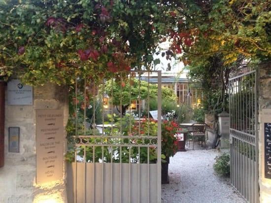 Restaurant : Le Clair de la Plume  - Entrée du restaurant -