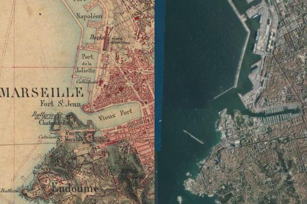 Cartes : 20 villes avant/après