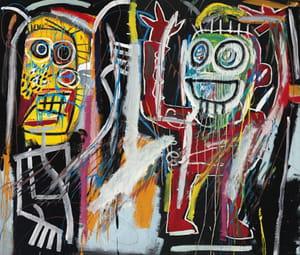 Jean-Michel Basquiat - Dusthead (1982)
