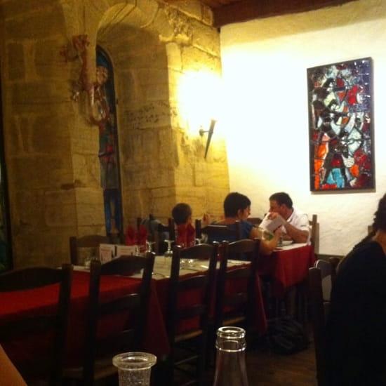 Restaurant : La Salamandre  - Salle intérieur -