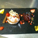 Le Kimana  - croustillant de fraise chantilly facon paris brest -
