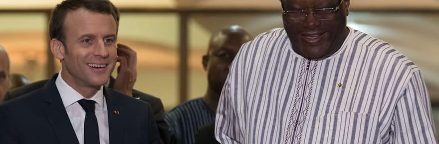 Emmanuel Macron: comment a réagi le président burkinabé à sa blague?