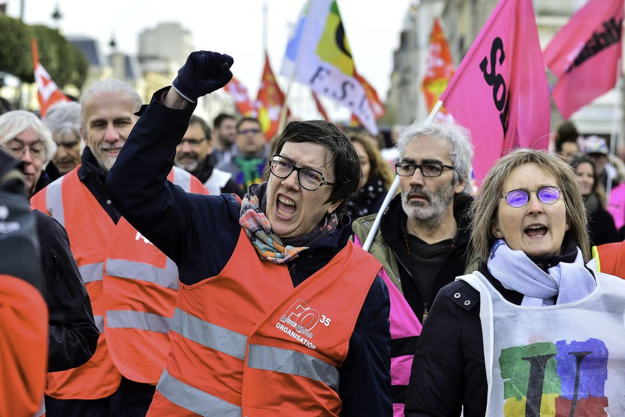 Manifestation du 29janvier: une baisse de la mobilisation? Les chiffres