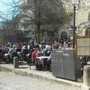 Restaurant : Le Bouchon  - Vu de la terrasse  -
