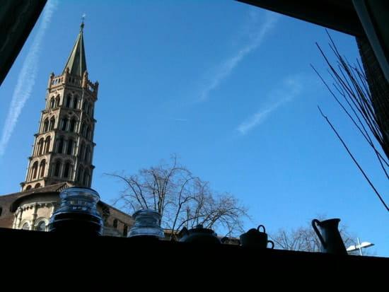 Les Délices De Saturnin  - Vue sur la Basilique Saint Sernin -   © SARL Les Délices De Saturnin