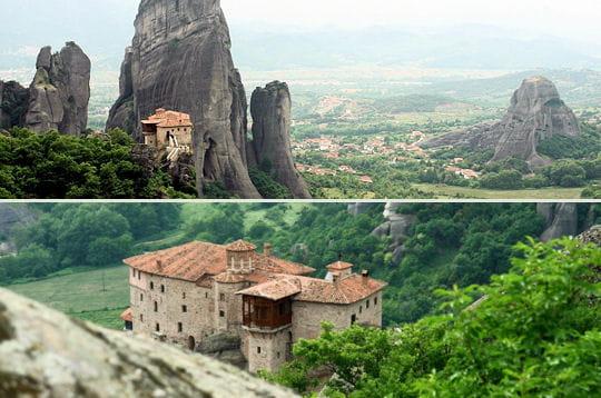 Les monastères suspendus de Météores
