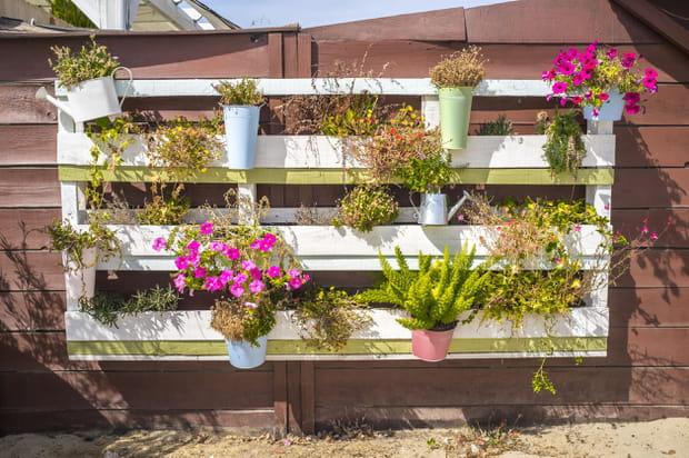 20idées récup' pour le jardin repérées sur Pinterest