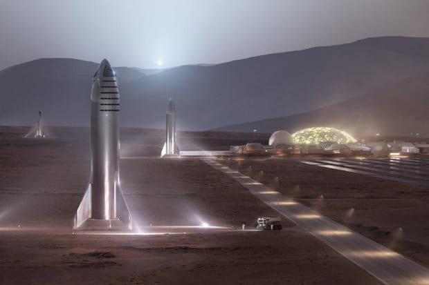Conquête de Mars: les projets en cours