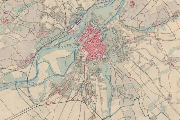 Metz vers 1860