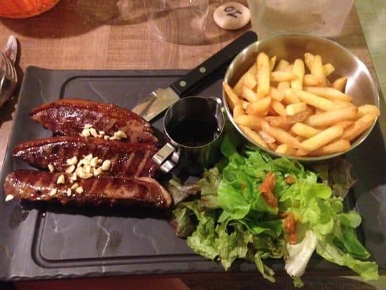 Restaurant : Airial  - Magret de canard au miel et noisette  -