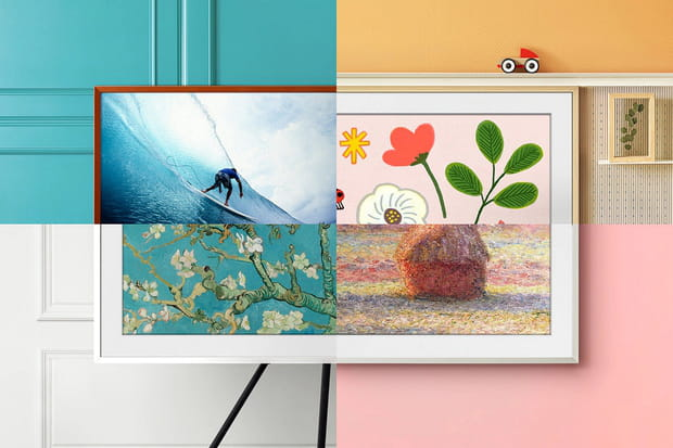 Un cadre photo: Samsung The Frame 2021