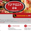 Restaurant : To Pizza'64  - Commandez -   © To Pizza'64 2017