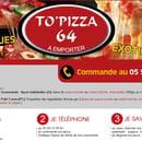 , Restaurant : To Pizza'64  - Commandez -   © To Pizza'64 2017