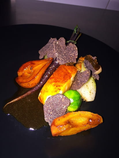 Auberge du Fenouillet  - Poularde de Bresse à la truffe noire -