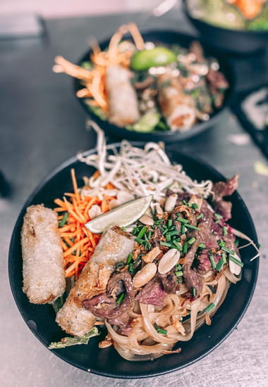 Plat : Healthy Café  - Bo bun royal -   © Healthy café