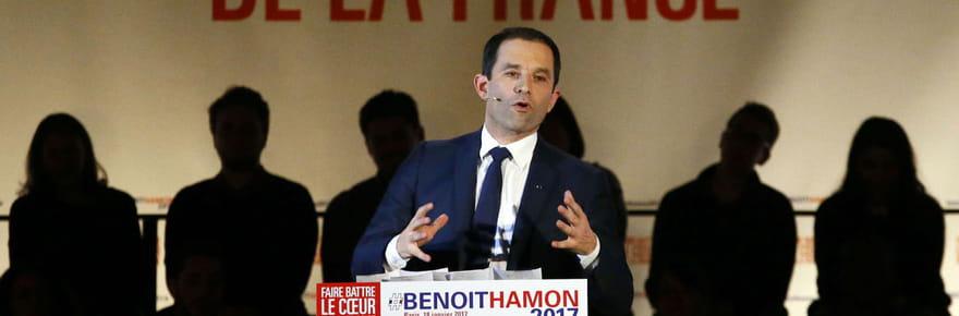 Benoît Hamon préfère laisser sa femme dans l'ombre