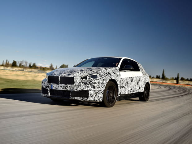 Les premières photos de la nouvelle BMW Série 1