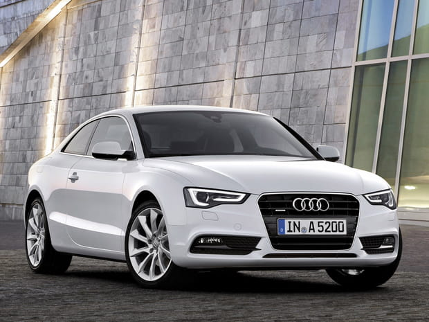 Numéro 18 ex aequo : Audi A5
