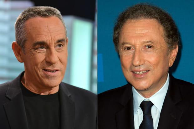 Michel Drucker et Thierry Ardisson
