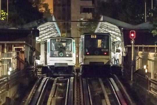 Trafic RATP: le métro parisien circulera toute la nuit dès septembre